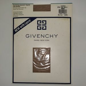 Givenchy Bronze Control Top Pantyhose Size B